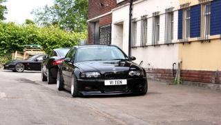 BMW M3 V10, l'outil idéal pour faire fumer les pneus M412