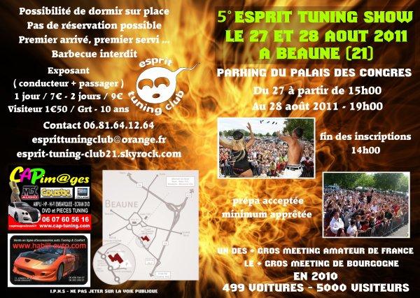 5° Esprit Tuning Show - Beaune (FR) - 27/28 août 2011 Meetin10