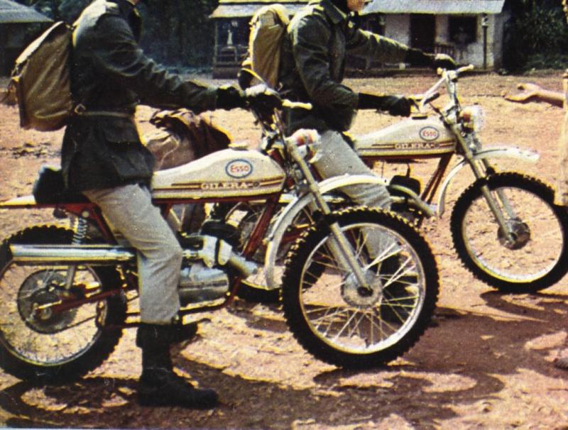 Foto di moto d'epoca o rare avvistate per strada - Pagina 4 Gilera11