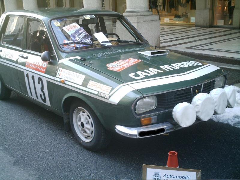 Montecarlo Rally (storico) Renaul12