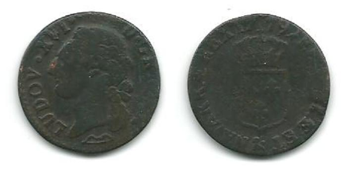 Louis XVI Demi-Sols,Sols,12 Deniers........ _aix_110