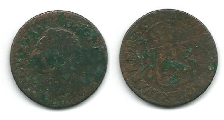 Louis XVI Demi-Sols,Sols,12 Deniers........ K_bord12