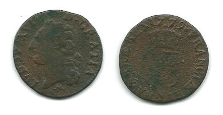 Louis XVI Demi-Sols,Sols,12 Deniers........ N_mont10