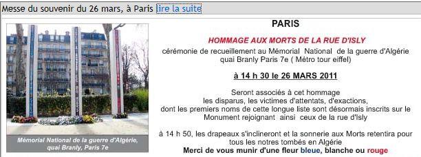 50 ème anniversaire des tragiques événements de la rue d'Isly Isly-110