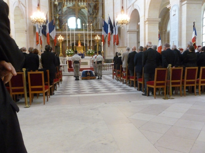 ROUAULT Pierre Médecin-colonel - 5e BPV-8e BPC - 21 septembre 2011 - Invalides cérémonie religieuse P1000710