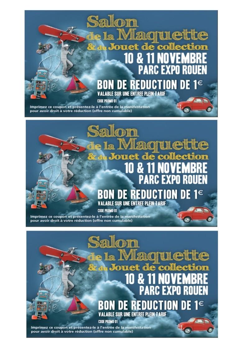 salon de la maquette Rouen Parc Expo Bon_de10