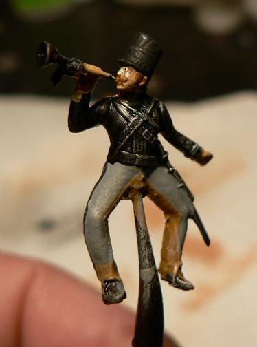 Tuto : peinture de figurines historiques ==> 3 Scott's Grey d'Italeri 12-210