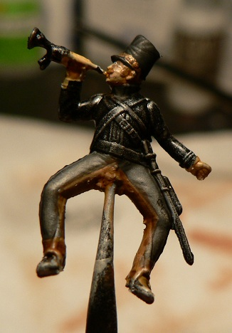 Tuto : peinture de figurines historiques ==> 3 Scott's Grey d'Italeri 13-210