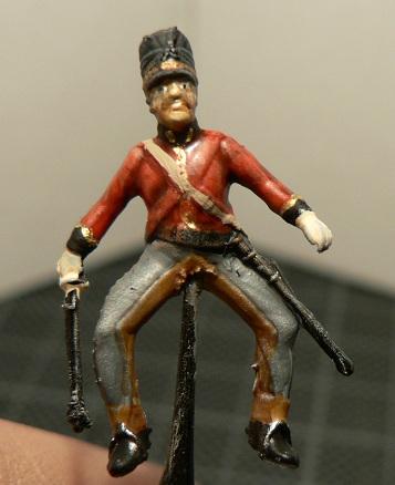 Tuto : peinture de figurines historiques ==> 3 Scott's Grey d'Italeri 19-110