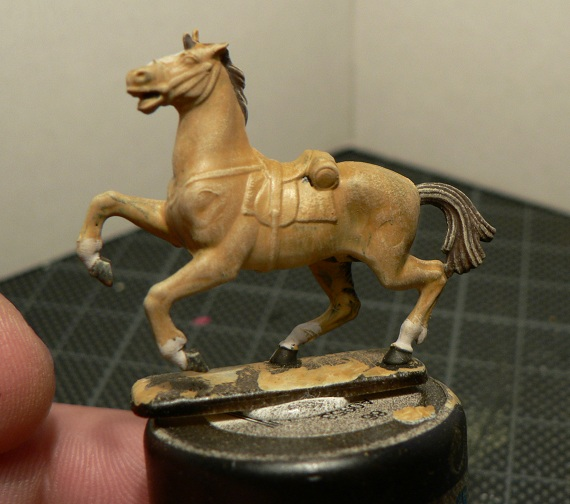 Tuto : peinture de figurines historiques ==> 3 Scott's Grey d'Italeri 19-310