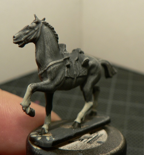 Tuto : peinture de figurines historiques ==> 3 Scott's Grey d'Italeri 19-410