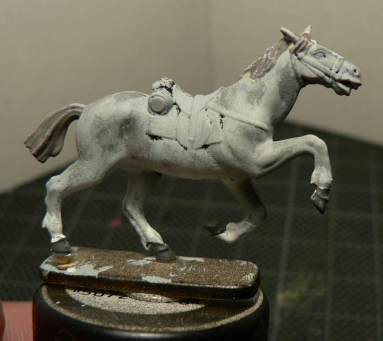 Tuto : peinture de figurines historiques ==> 3 Scott's Grey d'Italeri 19-510