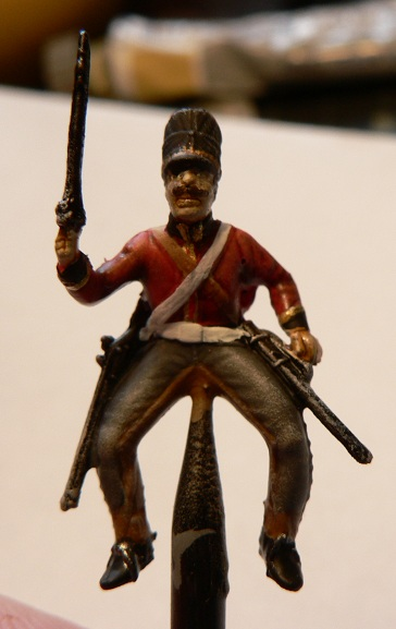 Tuto : peinture de figurines historiques ==> 3 Scott's Grey d'Italeri 20-210