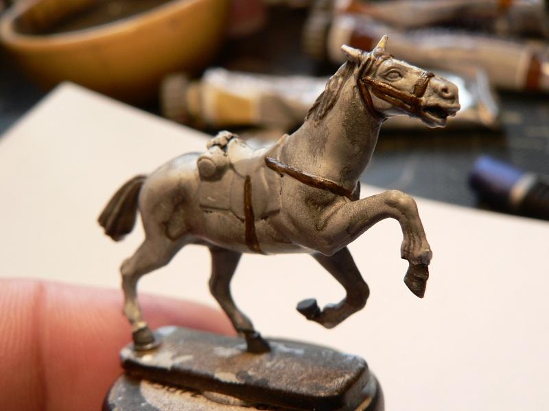 Tuto : peinture de figurines historiques ==> 3 Scott's Grey d'Italeri 20-410
