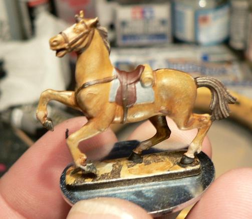 Tuto : peinture de figurines historiques ==> 3 Scott's Grey d'Italeri 21-210