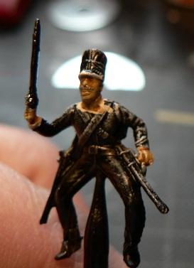 Tuto : peinture de figurines historiques ==> 3 Scott's Grey d'Italeri 6-212