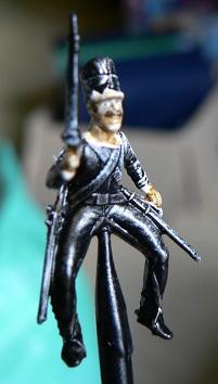 Tuto : peinture de figurines historiques ==> 3 Scott's Grey d'Italeri 9-410
