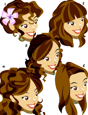which hair styles do you like best (girls hair styles) Promha10