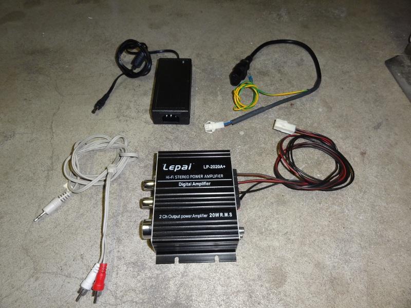 WIP : NAC stereo upgrade Ampli210
