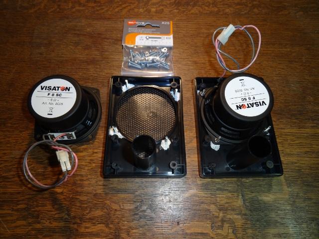 WIP : NAC stereo upgrade Hp-f8s11
