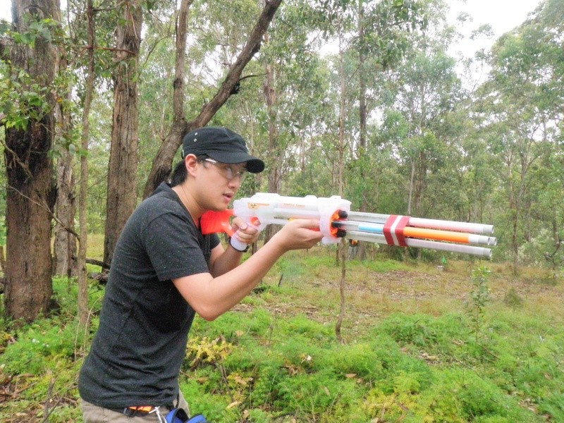Sydney Nerf War - Lansdowne Reserve - Saturday, 21st January - Page 3 P1213233