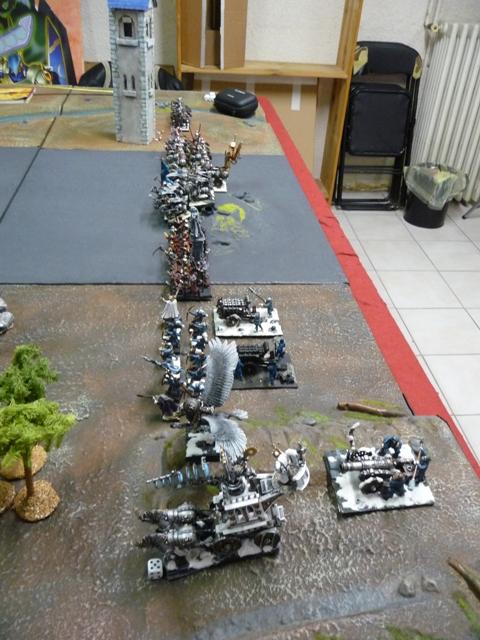 rapport de bataille Hommes lézards VS Empire Daploi14