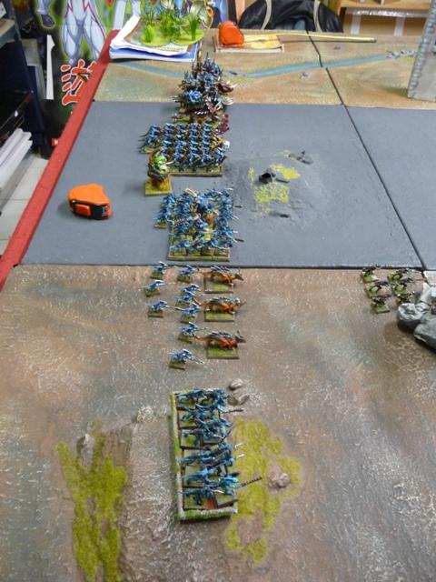 rapport de bataille Hommes lézards VS Empire Daploi15