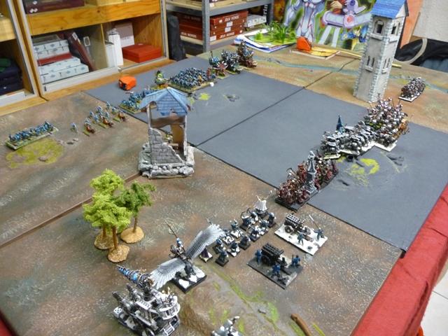 rapport de bataille Hommes lézards VS Empire Daploi16