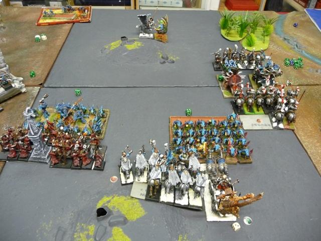 rapport de bataille Hommes lézards VS Empire Tour_412