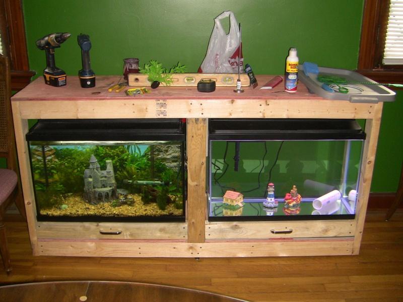 Mulit fish tank stand Img_0810