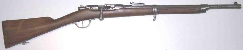 Mousqueton d'artillerie Gras Mousqu10