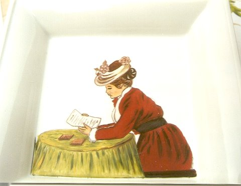 peinture sur porcelaine Numari11