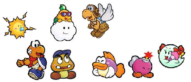 Paper Mario & co N6410
