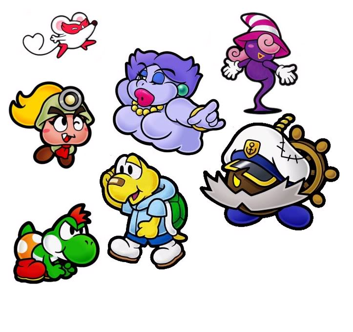 Paper Mario & co Ngc10