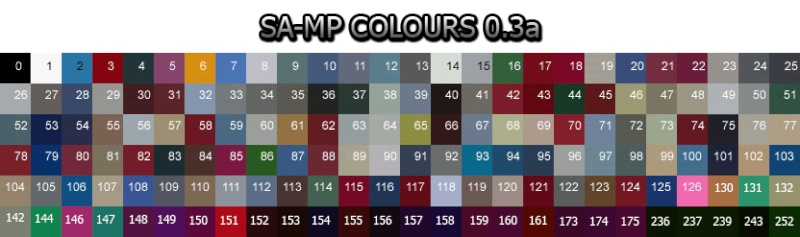 Les codes de couleur SAMP ! Sa-mp_14