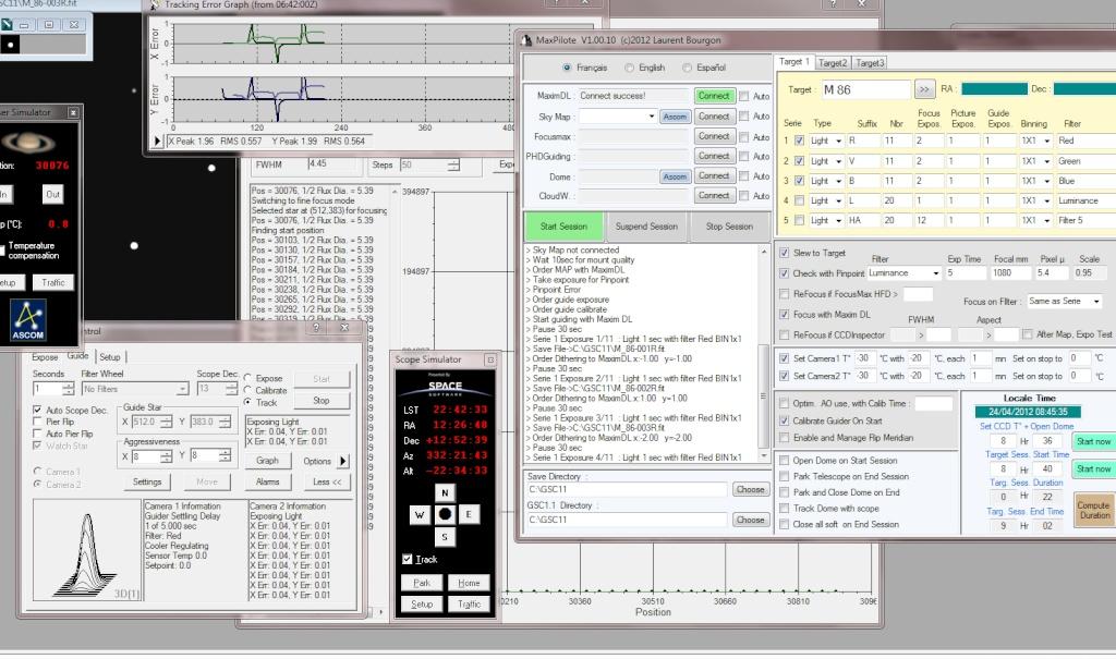MaxPilote : Soft pour gérer vos soirées avec Maxim DL/FocusMax/Pinpoint/PHDGuiding - Page 3 Bug210