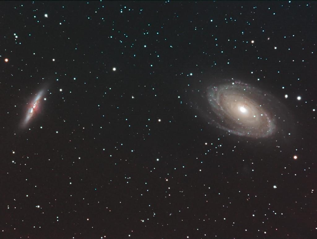M81-M82 premiers essais caméra couleur SBIG8300 Gsc43810