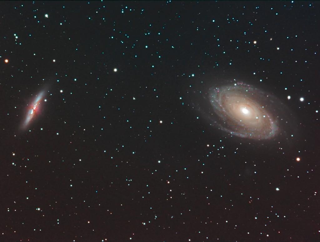 M81-M82 premiers essais caméra couleur SBIG8300 Gsc43811