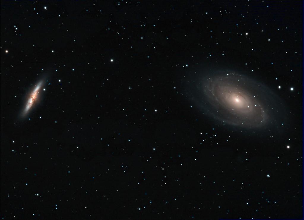 M81-M82 premiers essais caméra couleur SBIG8300 M8182w10