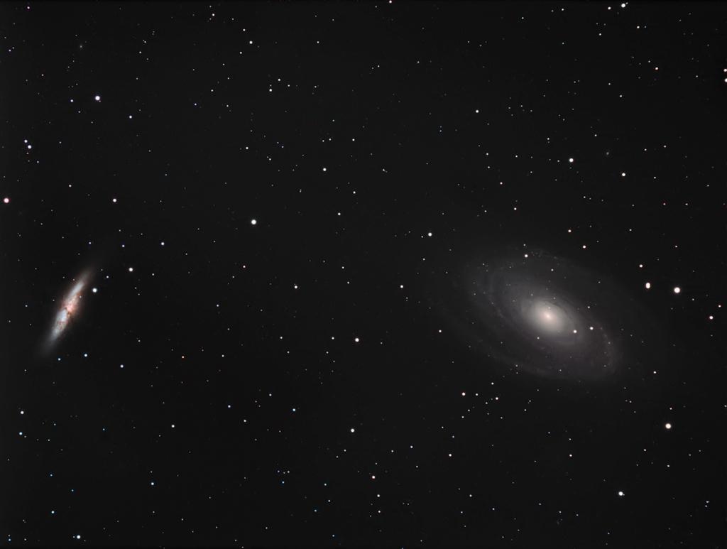 M81-M82 premiers essais caméra couleur SBIG8300 M81_we11