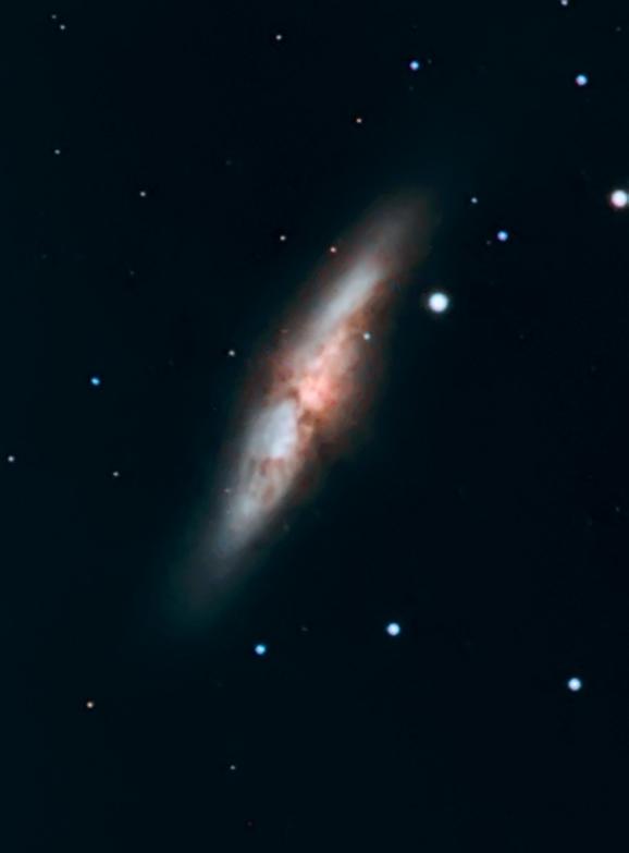 M81-M82 premiers essais caméra couleur SBIG8300 M8211