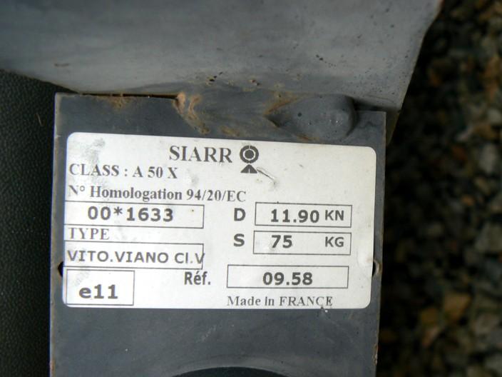 Porte-velo basculant sur boule P1030810