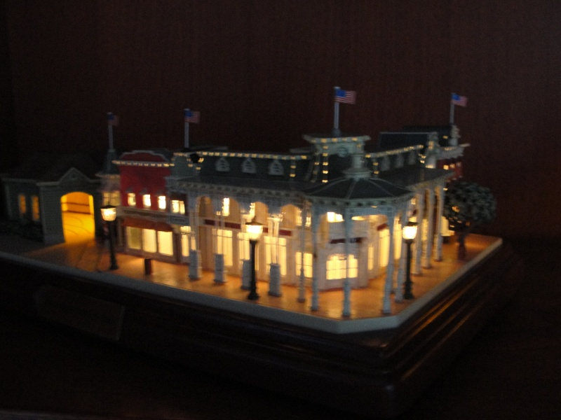 Mon Mini Main Street USA Walt Disney World by Olszewski ...FIN....Vidéo récap p5 02710
