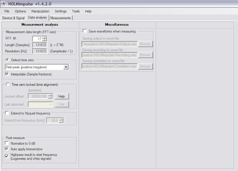 Mesure de calage de phase sur JBL Image212