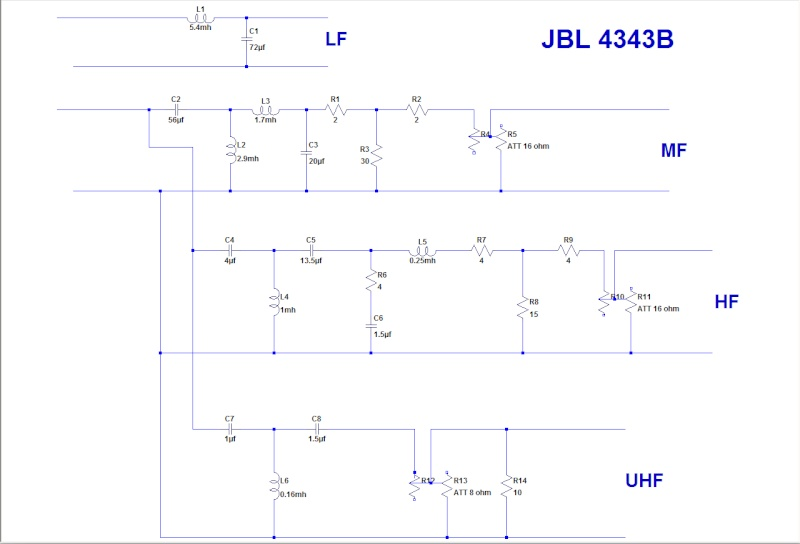 4343 STUDIO MONITOR Jbl_4310