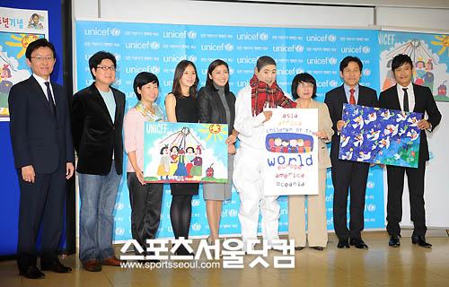 Représentant de l'UNICEF 20091025