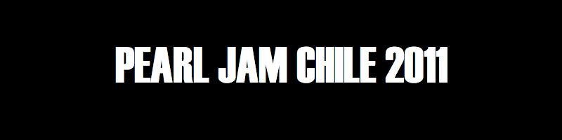 Lettertothedead - Pearl Jam Chile
