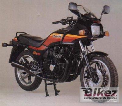 Kawasaki GPZ 550 157