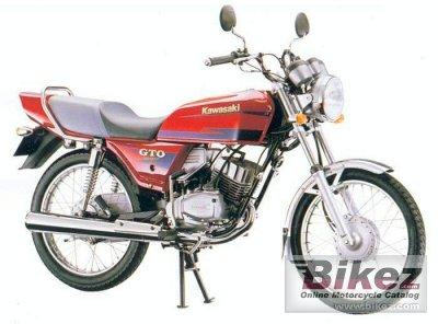Kawasaki GTO 125 165