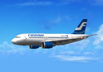 fin (Finland airlines) A320-f10